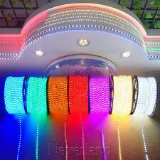 65 100 150 300Ft LED Rope Light Home Party Christmas Decorative In/Outdoor Lamp