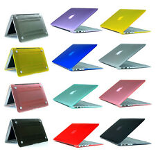 smooth Transparent Shell hard case For Macbook Pro 13 Air 13 11 Pro 15 Retina