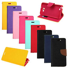 Dual-Use Wallet Flip Case Cover For Samsung Galaxy Note GT-N7000 i9220 + 2 Gift