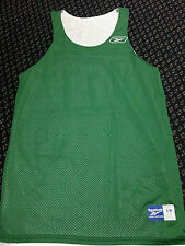 NEW Reebok Team Mens Reversible Athletic Mesh Basketball Jersey Tank Top