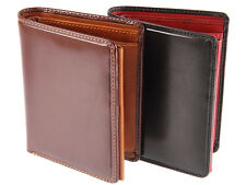 Visconti Gents Mens Torino Collection Veg Tan Luxury Leather Wallet - TR34