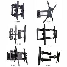 UNHO LCD TV Wall Mount Bracket Tilt Swivel 19 23 27 32 42 46 48 50 55 60 65 Inch