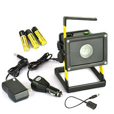 Rechargeable LED Outdoor work Light Protable Cree Xml XM- L2 10W Flood Spot Lamp