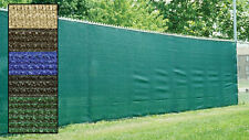 Fence Privacy Screen Cover Mesh Windscreen Fabric Slat Shade Cloth