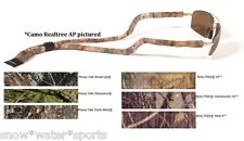 CROAKIES Cotton Camo Suiter Mossy Oak OR Realtree AP Sunglass Retainer Strap NWT