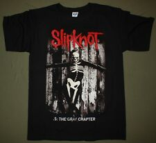SLIPKNOT .5: THE GREY CHAPTER 2014 STONE SOUR COREY TAYLOR NEW BLACK T-SHIRT