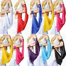 1Pcs Belly Dance Costume Adjustable Arm Sleeve Multi Colour One Size