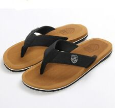 Mens summer sport beach Flip Flops Slippers Sandals shoes Beckham fashion