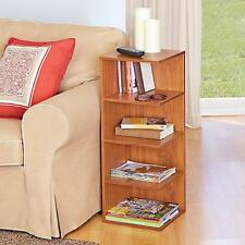 READING SIDE TABLE Night Stand Library Book Case Sofa Accent Table End Pedestal