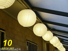 10 Piece Festoon Party Lantern String Light Kit - Big, Bright and Bold!