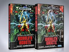 Ghouls n Ghosts - Genesis Custom Art Case/Box (*No Game*)