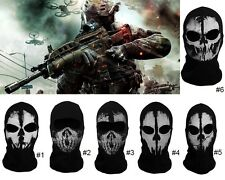 Face Skull Ghost Mask Army Military Balaclava Face Mask Call of Duty 1x Cotton