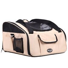 Tote Pet Dog Cat Carrier Shoulder Purse Purse Travel Airline Bag Pink 16X13X10in