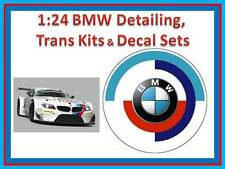 1:24 BMW Z4 GT3 / M3 DTM Kits, decal sets & detail kits ~ Tamiya Fujimi Revell