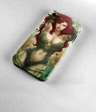 New Design Poison Ivy Batman Comics Sexy Villain 3D iPhone Case Cover