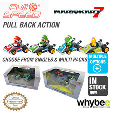 New! Carrera Pull Back & Speed Nintendo Mario Kart 7 Box Sets! 1/43 Scale Age 3+