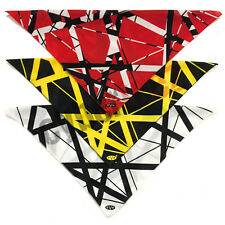 Edward Eddie Van Halen EVH Red, White or Yellow Stripe Bandana Handkerchief