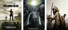 The Walking Dead Poster Set - A4 A3 A2 Sets Available