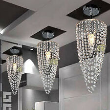 LED crystal chandelier lighting fixtures ceiling Lamp dining room pendant lights