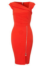 Red Pleated Shift Bodycon party dresses LC21667 cocktail casual women winter new