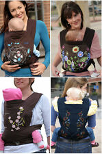 Cotton Mei Tai Style 3 in 1 Baby Carrier Sling From Birth To Toddler-4 Patterns