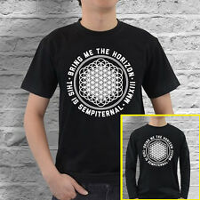 Bring Me the Horizon Sempiternal New Cotton Black T-Shirt Size S - 3XL