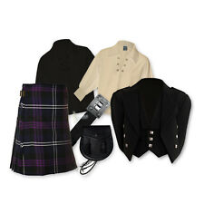 KIDS' KILT PACKAGE - 'PRINCE CHARLIE' OUTFIT - HERITAGE SCOTLAND - SIZE OPTIONS!