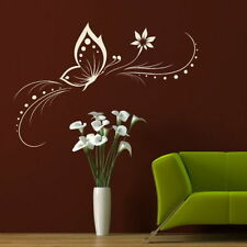 Elegant Butterfly Wall Sticker Vinyl Decal Big Butterflies Wall Transfer x35