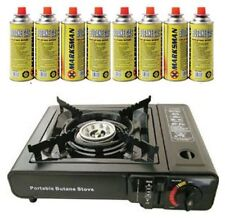 Portable Butane Gas Stove Cooker with Case Camping/Travel/Picnic/Patio/Outdoor