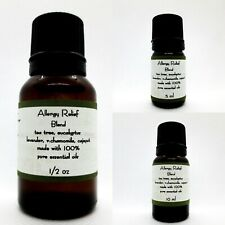 Allergy Relief Blend Pure Essential oils Blend  Buy 3 same size get 1 free