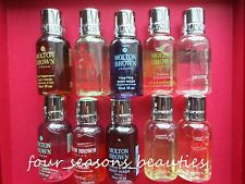 ANY 3 Molton Brown Body Wash Bath Shower 3 oz total Lot Set 6 Scents YOU PICK