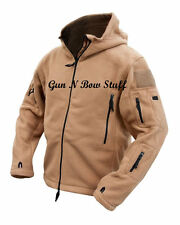Black Tactical Recon Hoody Military Army Hoodie Fleece Special Forces Security