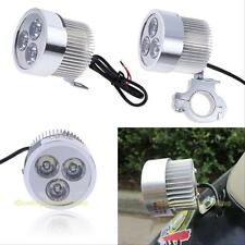 #QZO 9W 12V Motor Bike Car Motorcycle Driving LED Spot Light Headlight Fog Lamp
