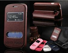 Protective Flip Brand Stand Luxury PU Leather KLX View Case Cover