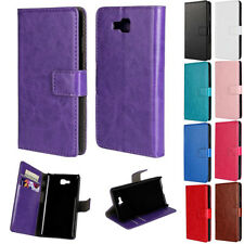 For LG Optimus L9 II 2 D605 Magnetic Flip Stand Wallet Card Case PU Leather Skin
