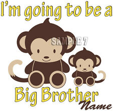 BIG BROTHER 2 BE IRON ON TRANSFER PERSONALISED FREE- Ref - 14-07