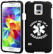 For Samsung S3 S4 S5 Active Rubber Hard Case Cover Trust Me I'm A Paramedic