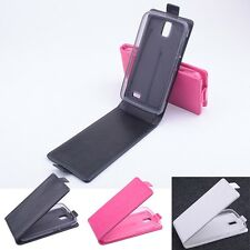 """Luxury Magnetic Leather Case Cover Skin For 4.5"""" Lenovo A328 A328T Smartphone"""