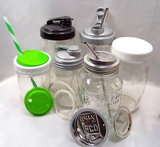 Mason Jar Spouts, Lids, Caps, Rings, Pumps, Storage, Wide Mouth and Regular
