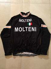 Vintage Molteni Winter Cycling Jersey  - Fleece Material