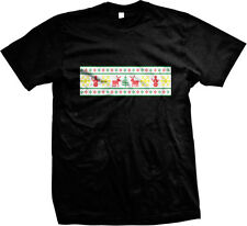 Ugly Christmas Sweater Party Joke Funny Festive Seasonal Humor Mens T-shirt