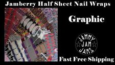 Jamberry Half Sheet Nail Wraps FAST FREE SHIPPING Graphic Designs