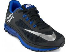 NEW Nike Men Black Blue Air Max Excellerate+2 Sports Mens Shoes 555331-019