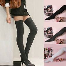 Fashion Long Socks Thigh Cotton Stockings Thinner Over Knee Hose Trendy Sexy
