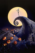 The Nightmare Before Christmas Giant Poster - A0 A1 A2 A3 A4 Sizes Available