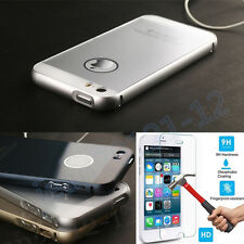 "Luxury Aluminum Metal Frame&Acrylic Case Cover For iphone 5 5S/ 6 4.7"" 5.5"" #AUD"