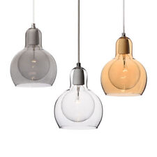 Modern Mouth-Blown Glass Pendant Ceiling Light(Bulb not included)Free Shipping