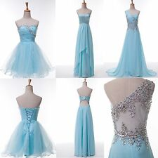 CHEAP XMAS Quinceanera BRIDESMAID Dresses Evening Cocktail Party Prom Club Gown