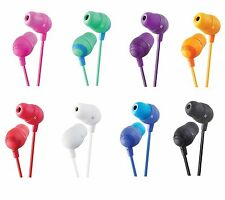 JVC HAFX32 Marshmallow Earbuds/Earphones for mp3/radio/tablet/Laptop/Phone