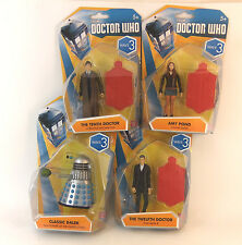 "BBC DOCTOR WHO 3.75"" FIGURE - CHOOSE YOUR  CHARACTER -  WAVE 3 DALEK 12TH DOCTOR"